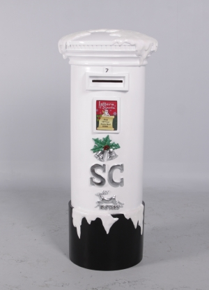 Santa's Mailbox 5ft -White (JR 130024w)