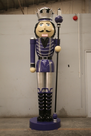Nutcracker 12ft with Sceptre - Left Hand (JR 130090PS)