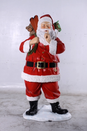 Father Christmas with Toys 6ft (JR 140004)