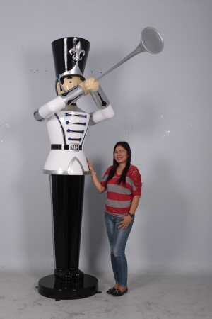 Toy Soldier with Trumpet 9ft (JR 140008) WSB