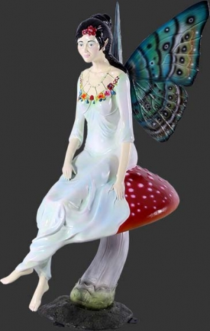 Fairy Sitting on Mushroom (JR 140064)