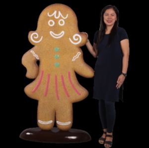 Ginger Bread Woman (JR 170057)