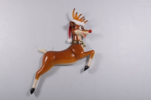 Funny Reindeer Wall Decor -JR 170109
