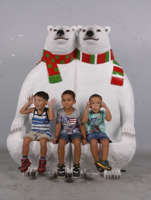POLAR BEAR BENCH JR 170160RG