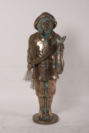 Fisherman- Salty in Bronze (JR 180036B)