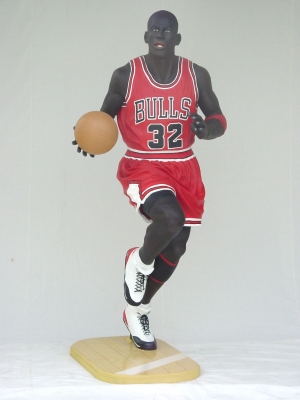 American Basketball Player Life-size (JR 1620)