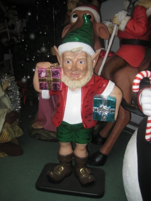 Elf with Two Gifts 2ft (JR 090082)