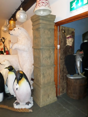 Aztec Column 7ft (JR F-001)