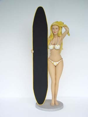 Bikini Girl with Menu 5ft (JR BD)