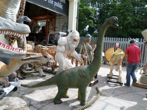 Brachiosaurus 7ft (JR 3405)