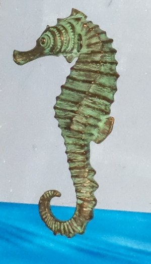 "Seahorse 24"" - Bronze Wall Decor (JR 140054L)"