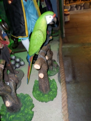 Green Macaw Single (JR BS-1000)