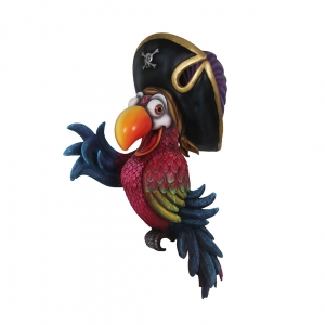 PIRATE PARROT WITHOUT STAND - JR C-072