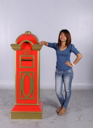 Mail Box - Red and Gold (JR CC002)