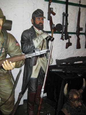 Confederate Soldier 6ft (JR 2245)