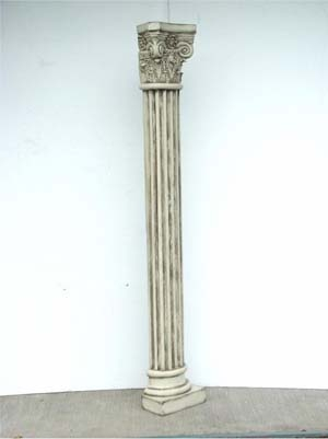 Pillar - Corinthian Half Pillar 6.5ft (JR 1971)