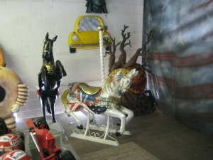 Carousel Horse with Metal Base 4.5ft (JR 2114-MB)