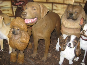 Labrador standing - Chocolate (JR 2963)