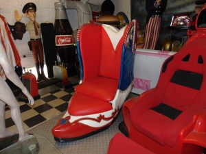 Chair - Cowboy Boot Chair (JR 5039)