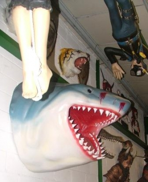 Shark Head Great White (JR 2463)