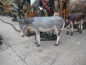 Donkey 3ft Life-size - Grey(JR 2006G)