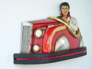 Elvis Style Bump Car (JR 2087)