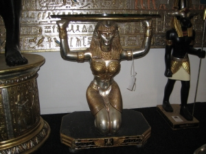 Kneeling Egyptian Female Table 3ft (JR FOEFT)