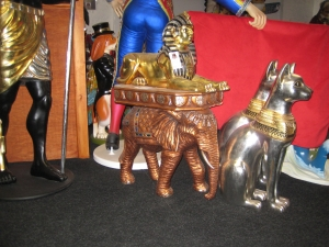 Egyptian Elephant Side Table (JR 5032)