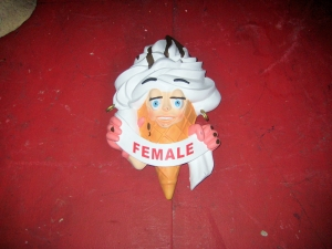 Ice Cream Sign (JR 2850)