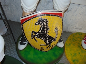 Ferrari Badge Mosaic (JR 2607)