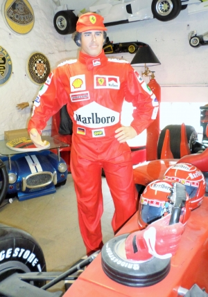 Ferrari Racing Driver 6ft (JR 2553- A)