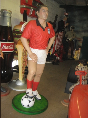 Football Player Standing (JR 1705)