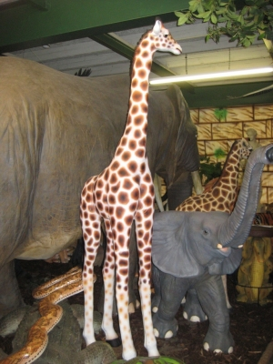 Giraffe Baby 8ft (JR 080131)