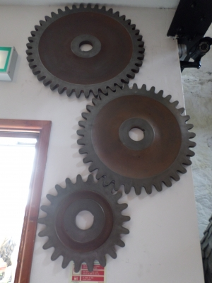 Gears (set of 3) Rust look ( JR 150046)