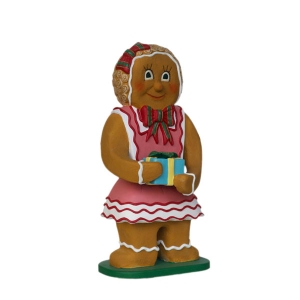 Ginger Bread Girl with Gift (JR 3125)