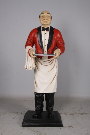 Old Man Waiter -6.5ft -JR HFOW6