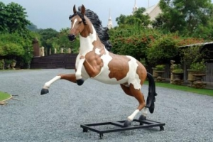 Indian Horse with Metal Base (JR 2570)