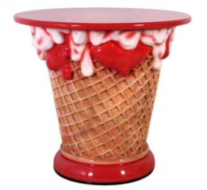 Ice Cream Table - Strawberry (JR 130019S)