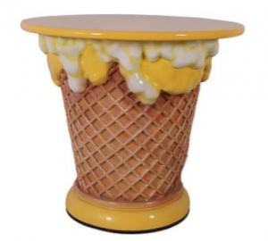 Ice Cream Table - Yellow (JR 130019Y)