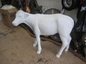Calf Plain White (JR 0008)