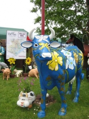 Flower Cow life-size (JR 7003)