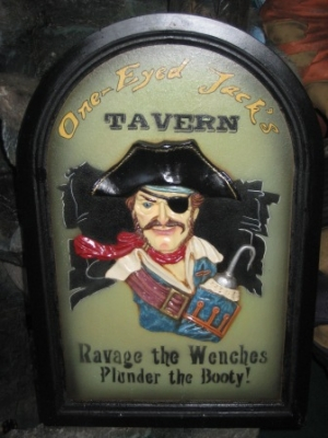 Pirate Jack's Tavern Sign 2ft (JR AP1650)