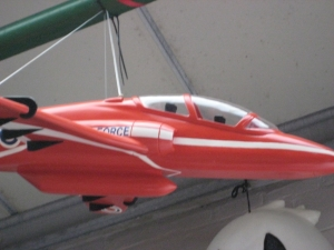 Red Arrow Plane (JR 0018)