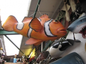 Giant Clown Fish Hanging (JR 100089)