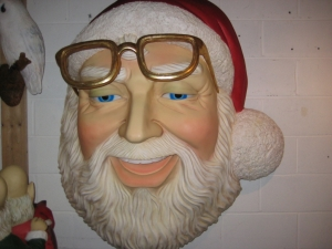 Santa Face Wall Decor 5ft (JR 2722)