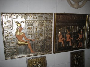 Egyptian Sitting Anubis Wall Decor (JR ACP1297)