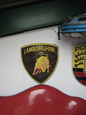 Lamborghini Badge Mosaic (JR 2606)