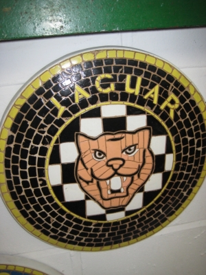 Jaguar Badge Mosaic (JR 2604)