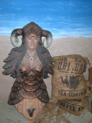 Viking Female Figurehead (JR 2449)