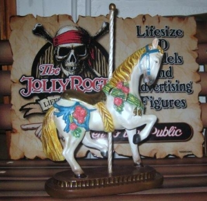 Carousel Horse Ornament (JR 1881)